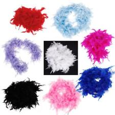 "6.6""Feather Boa HEN Party Flapper Burlesque Wedding Fancy Costume Dress Up Prop"
