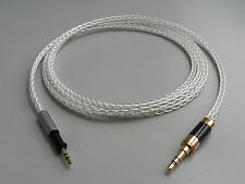 8N OCC Silver plated Wire Cable Carbon Gold 3.5mm for AKG K450 K460 2.5mm