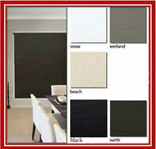 NEW! 120 x 210 Blockout Roller Blind Blinds Holland Ready Made Designer Fabric