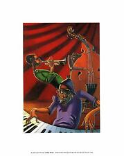 JUSTIN BUA JAZZ TRIO ART Poster   Cubical ART   Gifts For Guys   FREE Shipping
