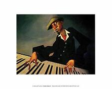 JUSTIN BUA PIANO MA II ART Poster   Cubical ART   Gifts For Guys   FREE Shipping