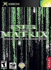 ~* Original Xbox Game Enter the Matrix * Complete * Minit * Tested *~