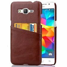 Slim Back Case Leather Holder Cover Wallet For Samsung Galaxy Grand Prime G530