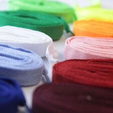 Fat bootlaces shoe laces for trainers sneakers colours 18mm 114-220