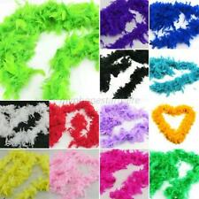 13Color Fluffy Feather Boa Dressup Hen Wedding Party Club Stage Show Dress Decor