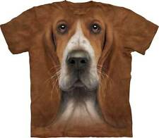 BASSET HOUND ADULT T-SHIRT THE MOUNTAIN