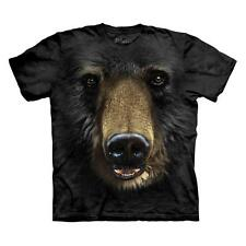 BLACK BEAR FACE CHILD T-SHIRT THE MOUNTAIN