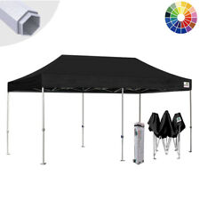 Eurmax Canopy 10x20 Commercial Ez Pop Up Canopy Tent Gazebo w/ Wheeled Bag