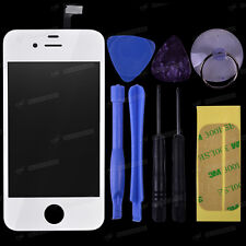 For Black White Apple iPhone 4G 4GS 5G Front Glass Touch Screen Digitizer Lens