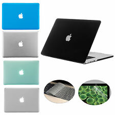 """3 in 1 Rubberized Hard Case Cover for Macbook Pro 15"""" with Retina Display A1398"""