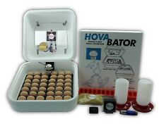 HovaBator Egg Incubator | IncuTurn Auto Turner | Fan Kit | Thermometer | Feeder