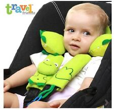 Baby lovely animal neck guard pillow seat belt protective  casing with Pillow