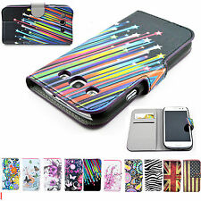 Beautiful Wallet Leather Phone Skin Case Cover For Samsung Galaxy S III S3 I9300