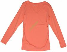 New Gap Womens Maternity Solid Long Sleeve Top NWOT Size sz XS S M L XL