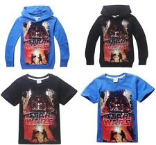 Childs Boys Girls T-Shirts / Hoodies Cool Unixes Top STAR WARS Printed Costume