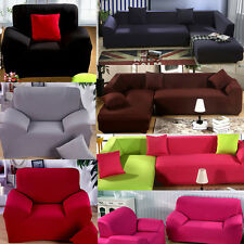 Loveseat Arm Chair Seater Stretch Sofa Couch Lounge Protect Slip Cover Slipcover