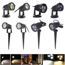 6W 9W COB LED Landscape Garden Wall Path Pond Flood Spot Light Outdoor Lighting
