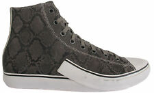 Puma MY 61 Hi Snake Mens Boys Leather Grey Lace Up Trainers 354035 01 U16