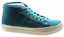 Puma Alexander Mcqueen AMQ Rabble Mid Mens Leather Trainers Blue 355318 01 U91