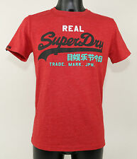 SuperDry T-Shirt - MS1IX071F1 AA6 - VINTAGE LOGO TRI-COLOUR ENTRY - rednew