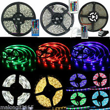 SUPERNIGHT 16.4ft 5M 3528/5050 RGB/RGBW Warm/Cool White 300 LED Strip Light Lamp