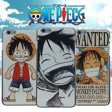 Cartoon One Piece Luffy Hard Phone Case Cover for Apple iPhone 4 5 S Skin P75