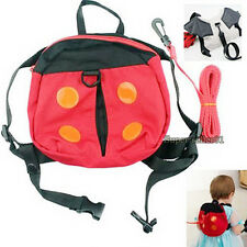 New Harness Strap Baby Keeper Toddler Safety Rein Ladybird Nice Backpack Bag