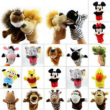 Animal Doll Kids Hand Glove Puppet Soft Plush Toy Story Telling Pretend Game #1