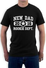 New Dad 2016 Rookie Department Gifts for Fathers T-Shirt