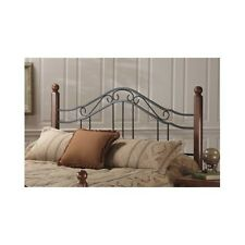 Queen Wood Headboard Full King Size Bed Cherry Finish Bedroom Furniture Black