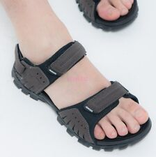 New Synthetic Leather Open Toe Casual Roman Mens Sandal Shoes Slippers EN4-8