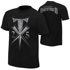 *WWE THE UNDERTAKER 25 YEARS AUTHENTIC T-SHIRT BRAND NEW SEALED*