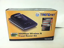 300MPS Wireless n Travel Router Kit TEW-654TR