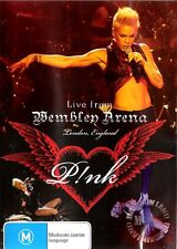 P!NK LIVE FROM WEMBLEY ARENA : NEW Pink DVD