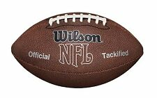 Wilson NFL American Football Ball MVP Waterproof Official Tackified Soft Rubber