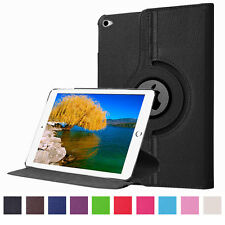 360 Rotating PU Leather Magnetic Smart Stand Case Wake Cover For iPad mini 4