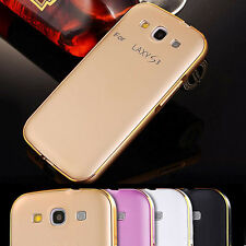 Luxury Ultrathin Aluminum Metal Bumper PC Back Case Cover For Samsung Galaxy S3