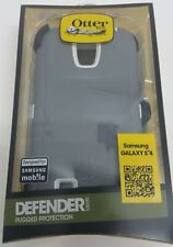 OtterBox Defender Series Case & Holster for Samsung Galaxy S4 * Glacier, Black