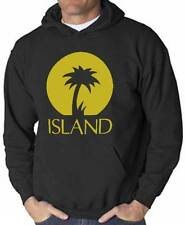 Sweatshirt Island, black hooded e logo music reggae, roots, dub, Jamaica 1959