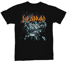 Def Leppard Styx Tesla 2016 Tour 2-Sided Men's Black TShirt NEW S M L XL XXL 3XL