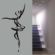 Ballet Dancer Stenciled Wall Sticke - Wall Art Decal Transfers -