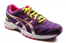 WOMENS ASICS GEL DS TRAINER 18 NEUTRAL RUNNING TRAINING GYM PURPLE SILVER SHOES