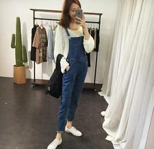 Women Pencil Pants Denim Strap Trousers Rompers Jumpsuits Slim Jeans Overalls