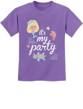 It's My Party - Lil Mermaid Birthday Gift Idea Cute Youth Kids T-Shirt Bday