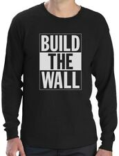 Build The Wall Republican Party Election Campaign Long Sleeve T-Shirt Political