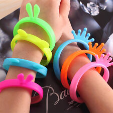 Trendy Fluorescent Protective Silicone Bracelet Cell Phone Cover Bumper Case CN