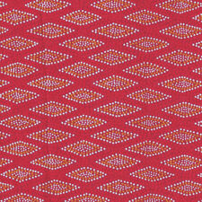 WIGARUP RED - Australian Quilting Fabric -  by FQ or 25cm