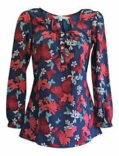 Red Herring RED HERRING Blue Pink Floral Blouse