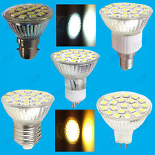 8x 4.8W LED Spot Light Bulbs, Stock, Day or Warm White Replaces Halogen Lamps