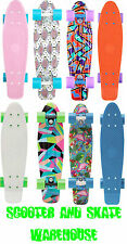"PENNY 22"" FRESH PRINTS COMPLETE SKATEBOARD CRUISEBOARD - FREE DELIVERY"